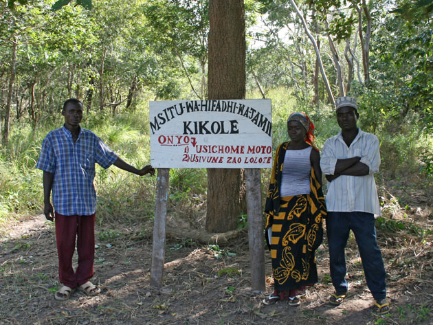 Environment Africa Trust and the Mpingo Conservation Project